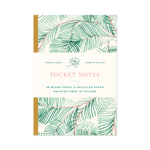 Pocket Notes Pine Tree