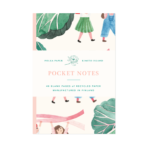 Pocket Notes Rhubarb