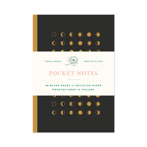 Pocket Notes Moon