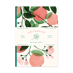 Set of Notebooks Apple - Wild Rose
