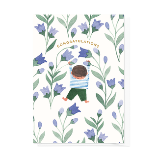 Greeting card Blue Bells