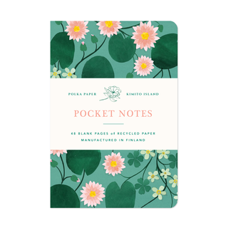 Pocket Notes Water Lily
